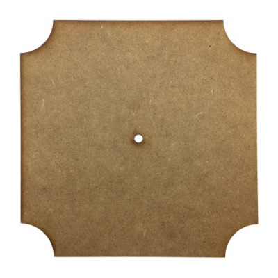Основа для часов квадратная срезана Ш-25 см