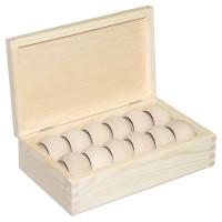 Комплект 12 колец + коробка (Польша) 21*12,5*6,3
