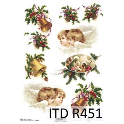 Бумага рисовая ITD A4 - R451