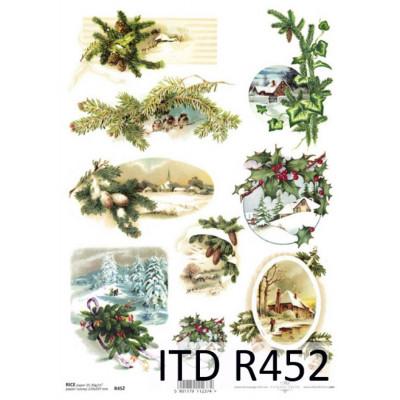 Бумага рисовая ITD A4 - R452