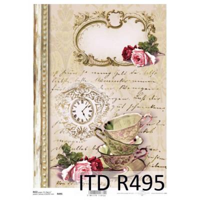 Бумага рисовая ITD A4 - R495