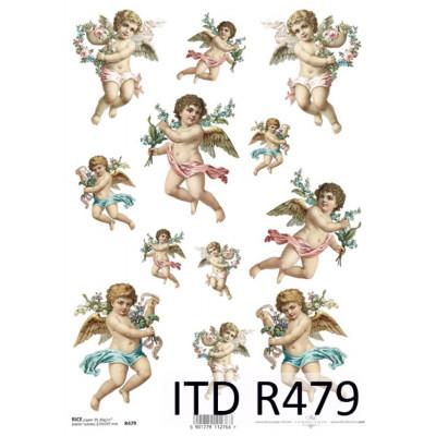 Бумага рисовая ITD A4 - R479