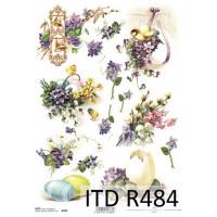 Бумага рисовая ITD A4 - R484