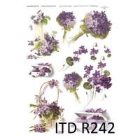 Бумага рисовая ITD A4 - R242