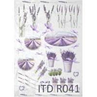 Бумага рисовая ITD A4 - R041