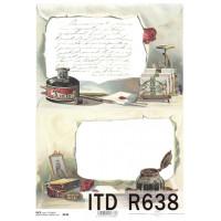 Бумага рисовая ITD A4 - R638