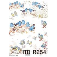 Бумага рисовая ITD A4 - R654