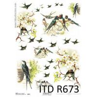 Бумага рисовая ITD A4 - R673