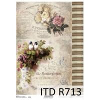 Бумага рисовая ITD A4 - R713