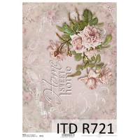 Бумага рисовая ITD A4 - R721