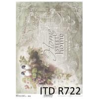 Бумага рисовая ITD A4 - R722