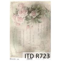Бумага рисовая ITD A4 - R723