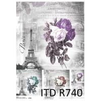 Бумага рисовая ITD A4 - R740