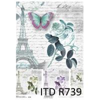 Бумага рисовая ITD A4 - R739