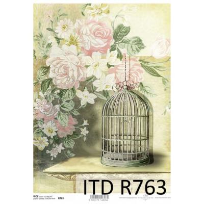 Бумага рисовая ITD A4 - R763