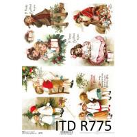 Бумага рисовая ITD A4 - R775