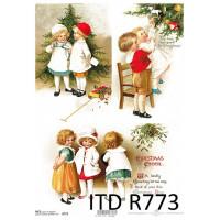 Бумага рисовая ITD A4 - R773