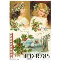 Бумага рисовая ITD A4 - R785