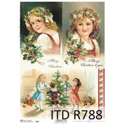 Бумага рисовая ITD A4 - R788