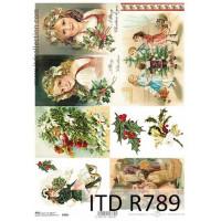 Бумага рисовая ITD A4 - R789