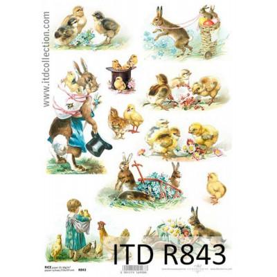 Бумага рисовая ITD A4 - R843