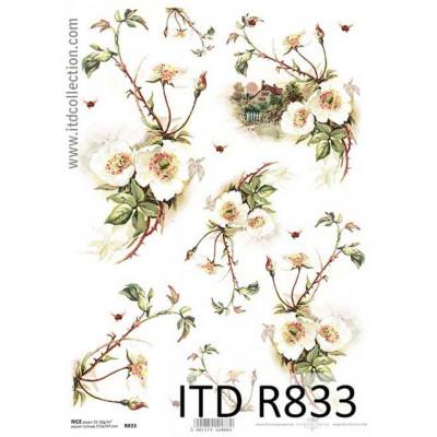 Бумага рисовая ITD A4 - R833