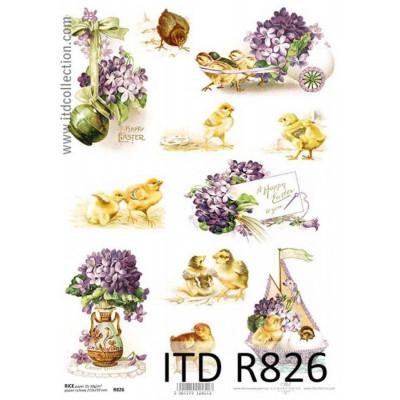 Бумага рисовая ITD A4 - R826