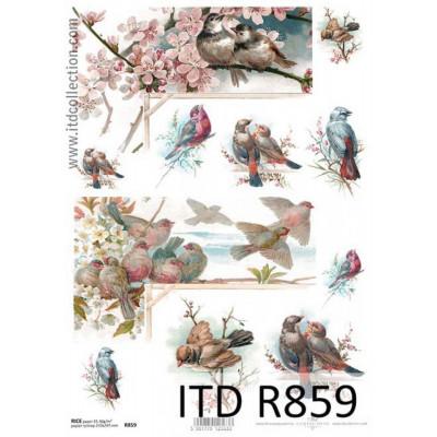Бумага рисовая ITD A4 - R859