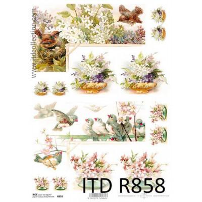 Бумага рисовая ITD A4 - R858