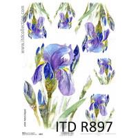 Бумага рисовая ITD A4 - R897