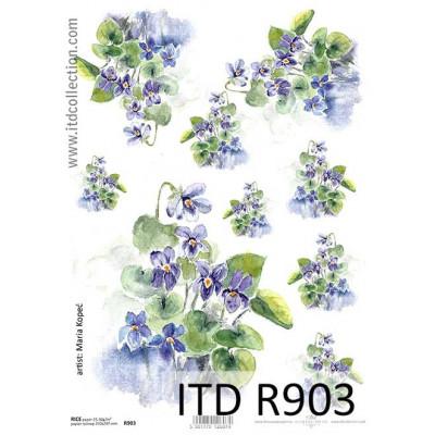 Бумага рисовая ITD A4 - R903
