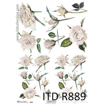 Бумага рисовая ITD A4 - R889
