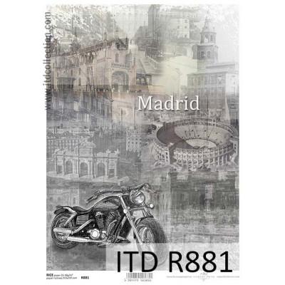 Бумага рисовая ITD A4 - R881