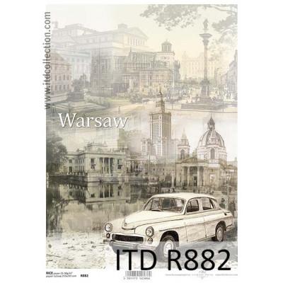 Бумага рисовая ITD A4 - R882