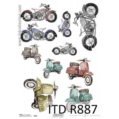 Бумага рисовая ITD A4 - R887