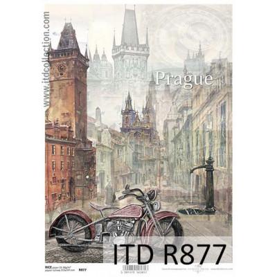 Бумага рисовая ITD A4 - R877