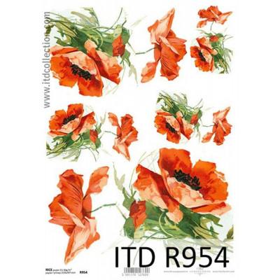 Бумага рисовая ITD A4 - R954