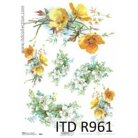 Бумага рисовая ITD A4 - R961