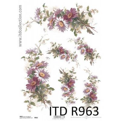 Бумага рисовая ITD A4 - R963