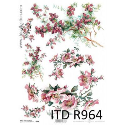 Бумага рисовая ITD A4 - R964