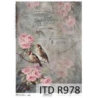 Бумага рисовая ITD A4 - R978