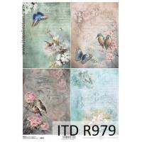 Бумага рисовая ITD A4 - R979