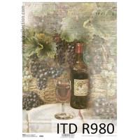 Бумага рисовая ITD A4 - R980
