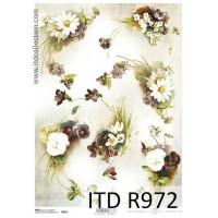 Бумага рисовая ITD A4 - R972