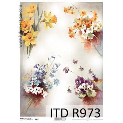 Бумага рисовая ITD A4 - R973