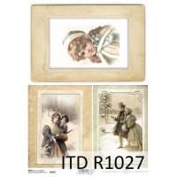 Бумага рисовая ITD A4 - R1027
