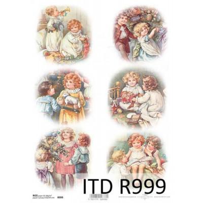 Бумага рисовая ITD A4 - R999