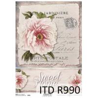 Бумага рисовая ITD A4 - R990