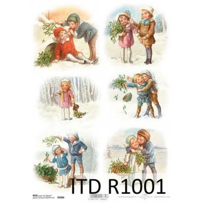Бумага рисовая ITD A4 - R1001