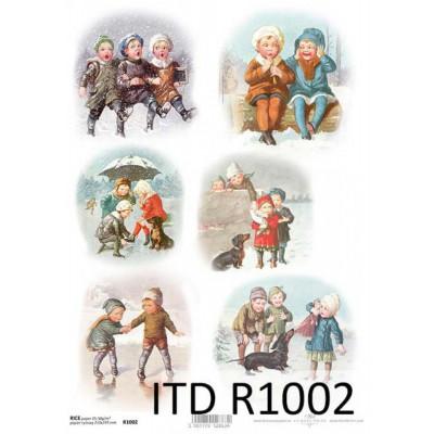 Бумага рисовая ITD A4 - R1002